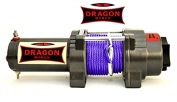Dragon Winch Highlander 3500HD el-spil 12v m/fibre wire