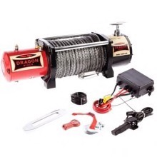 Dragon Winch Maverick 12000HD el-spil 12v m/fibre wire