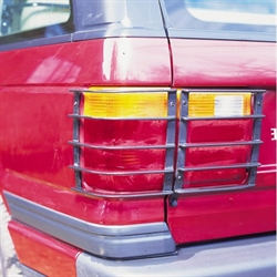 baglygtebeskytter/rear lamp guards til Range Rover P38