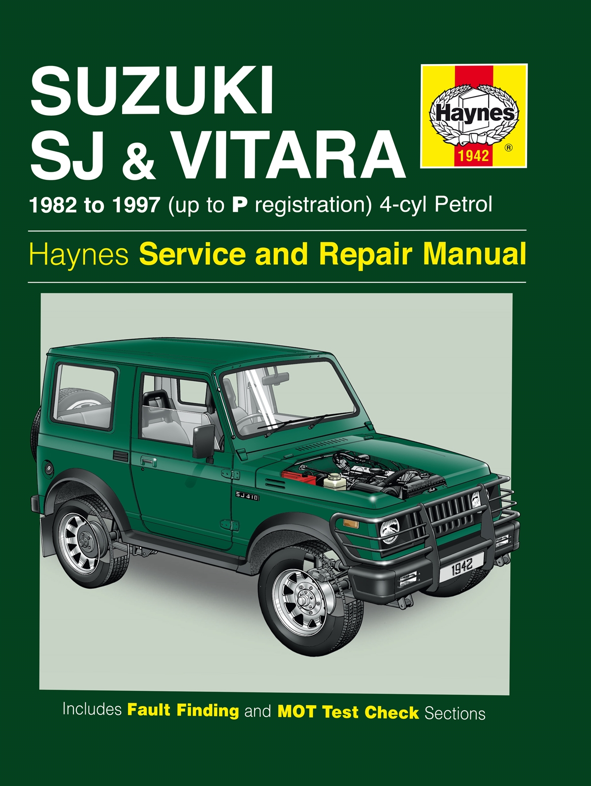 Haynes manual Suzuki sx4